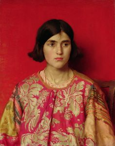 The Exile - Heavy is the Price I Paid for Love by Thomas Cooper Gotch