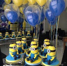 Minion Party Theme, Despicable Me Party, Minion Birthday, Circus Birthday, 3rd Birthday Parties, Birthday Party Decorations, Party Themes, Party Ideas, 2nd Birthday