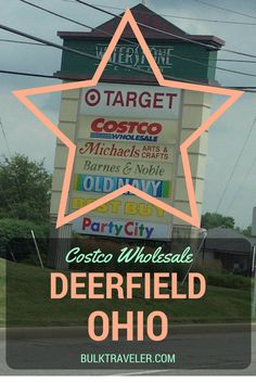 Take a trip with BulkTraveler.com to the Costco Deerfield Ohio location.