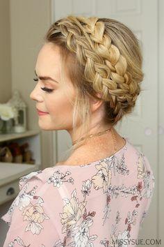 Dutch Milkmaid Braids