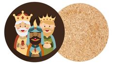 Posavasos de Reyes Magos