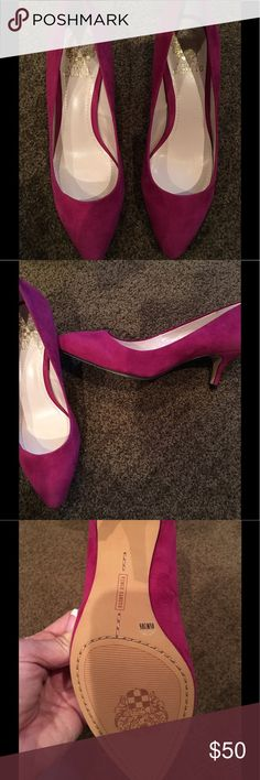 Vince Camuto Red Wine heels NWT Vince Camuto Red Wine suede heels NWT Vince Camuto Shoes Heels