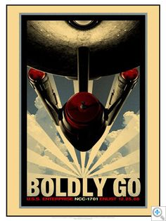 Star Trek Movie Posters (Retro)