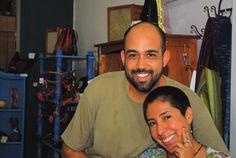 Joel Franqui y Karla Durán, propietarios de la tienda ecológica La Chiwinha en el casco urbano de Río Piedras. Foto de archivo.