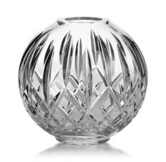 Lismore Rose Bowl Detailed cut facet design Dimensions: length height width Material type: Lead Crystal Country of origin: Slovenia Authentic product Crystal Wine Glasses, Crystal Glassware, Crystal Vase, Waterford Lismore, Crystals In The Home, Rose Bowl, Decorative Bowls, Glass Art, Gifts