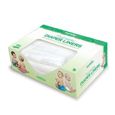 Afraid to cloth diaper b/c of poop?  First, until they eat solids, newborn poop REALLY CAN be just put in the diaper pail --> wash.  Once they eat solids, these are great to put on top of the diaper... poop comes off and gets flushed and you can just wash the diaper. You don't have to touch the poop at either stage!   Amazon.com: Bumkins Flushable Diaper Liner, Neutral, 100 Pack: Baby