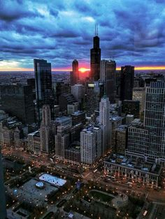 I believe this is the most striking picture of the Chicago Skyline I have ever seen