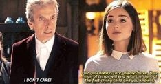 The Doctor and Clara. Doctor Who