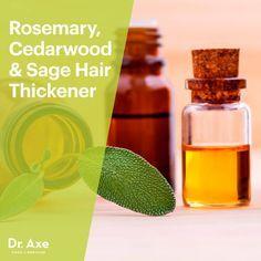 Natural hair thickener - Dr. Axe http://www.draxe.com #health #holistic #natural