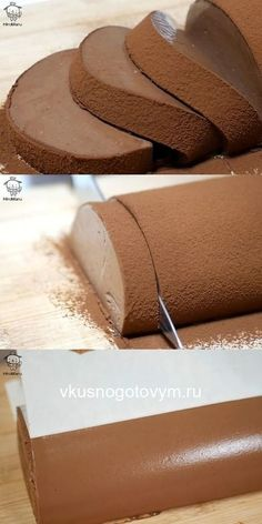 Delicate, creamy, melting in your mouth dessert. Try to prepare this mousse roll once - and will not come off! Bacon Recipes, Cooking Recipes, Vegan Recipes, Diet Recipes, Chicken Recipes, Mousse, Keto Results, Savoury Baking, Russian Recipes