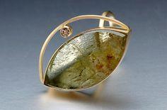 Barbara Christie - Jewelry Gallery - Jewelry Gallery - Ganoksin Orchid