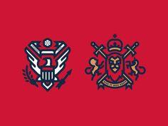 The Special Relationship designed by Fraser Davidson. Logo Branding, Logos, Branding Design, Crossfit Logo, Property Logo, Royal Logo, Logo Sketches, Logo Desing, Web Design Projects