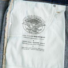 Wallace & Barnes slim selvedge jean in rinse wash : denim | J.Crew