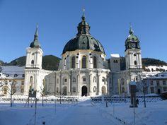 Kloster Ettal, Deutschland Notre Dame, Barcelona Cathedral, Taj Mahal, Building, Blog, Travel, Germany, Buildings, Viajes