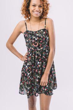 Dex Ditsy Floral Dress – Lee & Birch