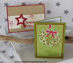 """Stempelkrempel mit Papier by Annies Stempelstübchen: Workshop """"Weihnachtspost und Sternenzauber"""""""