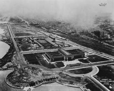 Here is a great photo of the Museum Campus in 1926. No Shedd Aquarium or Adler Planetarium yet. Look at how tiny Soldier Field is. © The Field Museum