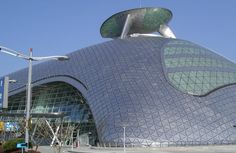 third generation flexible solar panels on curved structural forms in buildings.