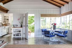 Kelly Lamb's Warm, Welcoming Backyard Boho Guest House: gallery image 5 Backyard Guest Houses, Studios, Guest Cabin, Gravity Home, Los Angeles Homes, Maine House, Dining Room Furniture, Dining Rooms, Kitchen Dining