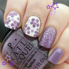 5 Gorgeous Gel Nail Designs With Flowers for 2019 : Check them out! Are you looking for a lovely Gel Nail Designs with Flowers for your long claws? You should take a look at the collection where we have got some unavoidable Gel Nail Designs With Flowers. Cute Nail Art, Cute Nails, Pretty Nails, Fancy Nails, Diy Nails, Fantastic Nails, Spring Nails, Summer Nails, Autumn Nails