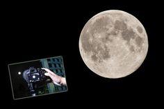 Den Mond fotografieren: So gelingen detailreiche Nacht- Fotos