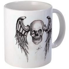 Skull Wings Re-Touch Mugs
