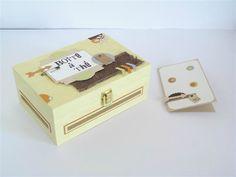 Boîte à thé et sa carte - Le scrap artistique
