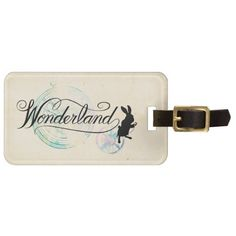 Alice in Wonderland - The White Rabbit | Wonderland 2. Regalos, Gifts. #Bag #Tags