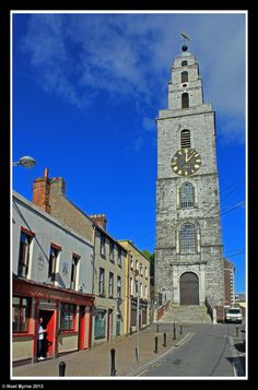 Shandon Tower of St Annes church in the centre of Cork, Ireland Copyright: Noel Byrne