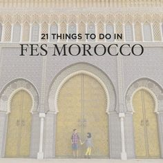 Fes (or Fez) is considered the religious, cultural, and handicraft center of Morocco. If you're visiting, here's 21 Amazing Things to Do in Fes Morocco.