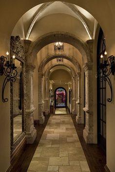 Beautiful Mediterranean Hallways - mediterranean - hall - phoenix - Fratantoni Luxury Estates