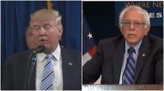 Trump Disastrously Tries To Woo Sanders Supporters By Attacking Bernie Sanders