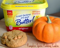 Great tasting Pumpkin Spice Pudding Cookies made with @Icantbelieveitsnotbutter #TimetoBelieve #CleverGirls