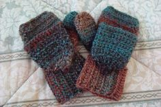 Convertible Mittens - Fingerless