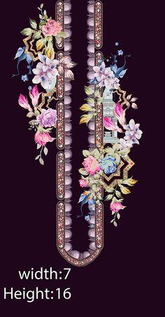 Border Pattern, Border Design, Pattern Art, Textile Prints, Textile Design, Flower Art Images, Egypt Jewelry, Back Of Neck Tattoo, Spider Art
