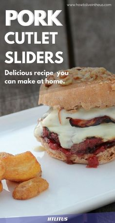 I absolutely love pork sliders! Check out this amazing recipe! http://www.howtoliveintheus.com