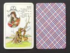 Vintage Lenormand Fortune Telling Oracle Cards Deck 1970s Belgium Dutch