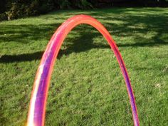 Electric Flamingo Color Changing Polypro Hoop  Get it on Etsy!