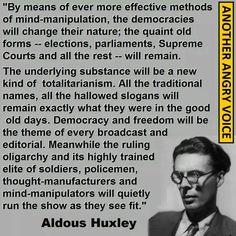Totalitarianism - Aldous Huxley