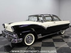 AutoTrader Classics - 1955 Ford Crown Victoria Coupe Black 8 Cylinder Automatic Other | American Classics | Charlotte, NC