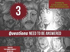 3 questions need to be answered by via slideshare