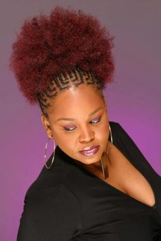 Absolute Beauty in 2020 Natural Hair Ponytail, Braided Ponytail Hairstyles, African Braids Hairstyles, My Hairstyle, Twist Hairstyles, Natural Hair Styles, Short Hair Styles, Braids For Black Hair, Hair Affair