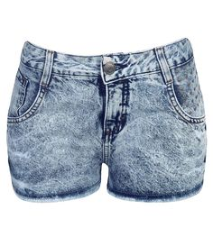 Short Feminino em Jeans com Tachas de Corações - Lojas Renner - $79.90