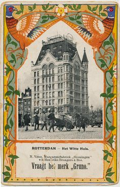 pc adv Gruno Witte huis Rotterdam pm 1900 | Flickr - Photo Sharing!