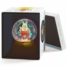 Djeco Baby's Room - YOKO FURUSHO ILLUSTRATION Glitter Globes, Yoko, Wall Hooks, Night Light, Baby Room, Toy Chest, Lanterns, Nursery, Wallpaper