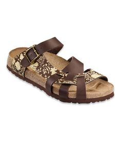 Take a look at this Brown Carnation Pisa Slide by Papillio on #zulily today!