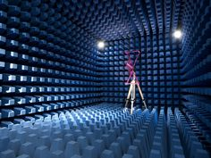 PPM have an on-site RF anechoic chamber for testing antennas and filters. Description from vialite.com. I searched for this on bing.com/images