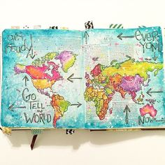 The gorgeous takes Bible Journaling to a whole other level! I just love seeing the way different people connect with God. Who here loves Bible journaling? Tag me in your favorite page! Faith Bible, My Bible, Bible Art, Bible Verses, Scriptures, Bible Drawing, Bible Doodling, Doodling Art, Bible Study Journal