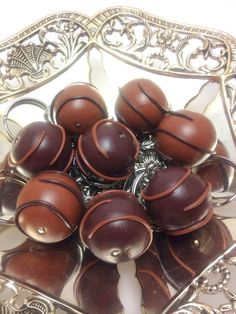 Faux Chocolate Keychain, Chocolate Key ring, Polymer Clay Mini Food, Chocolate Miniature, Milk Chocolate, Dark Chocolate, JosCreationsGR