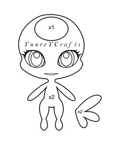 Free Printable Miraculous Ladybug Coloring Pages Kwami